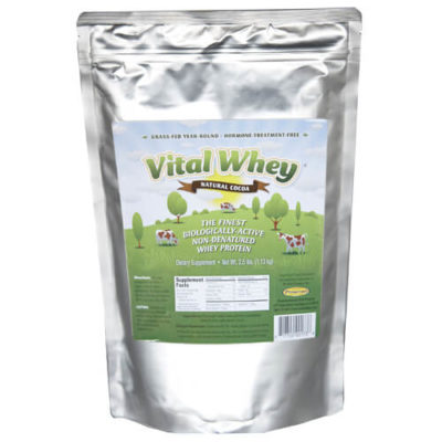 Chocolate Grass Fed Whey Powder
