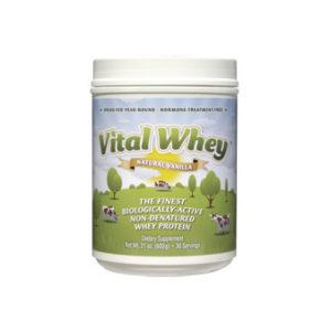 Vanilla Vital Whey Powder