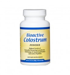 colostrum powder lactoferrin and full range immunoglobulins