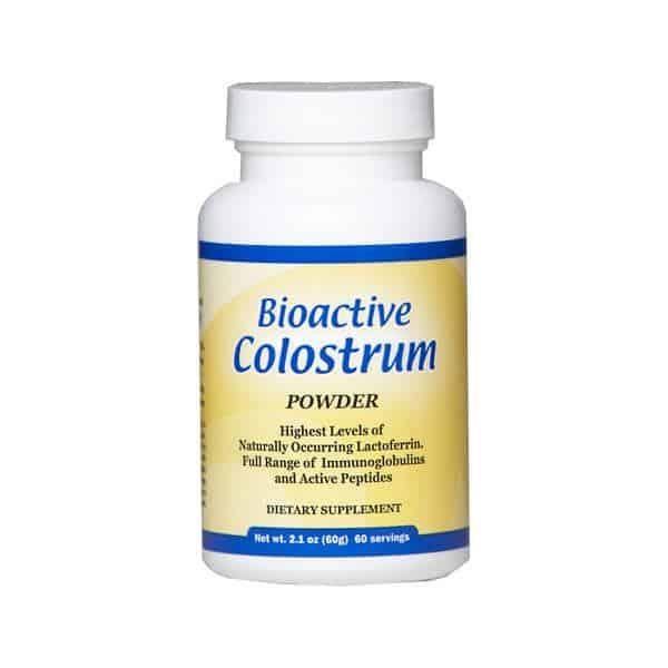 colostrum powder lactoferrin and full range immunoglobulins