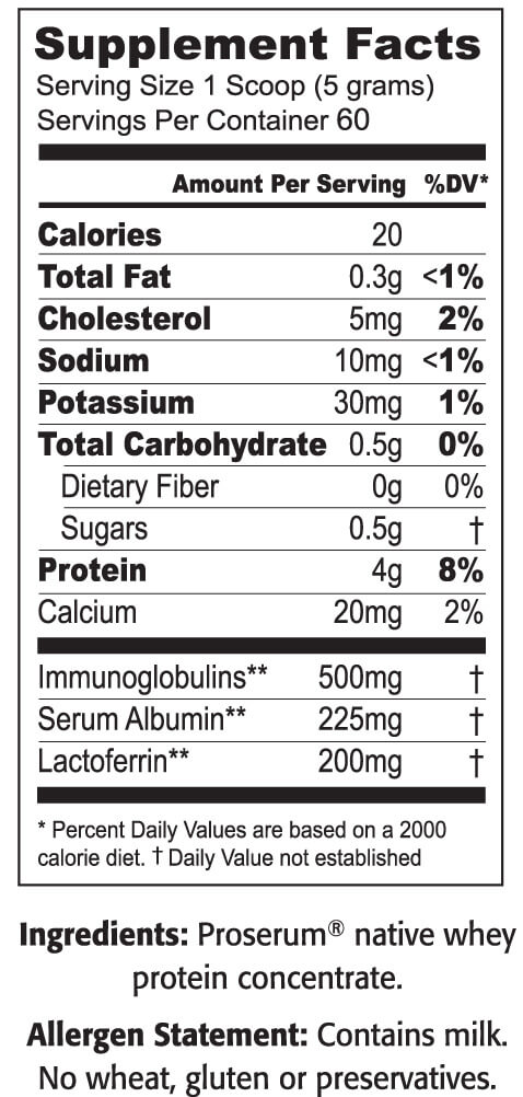 ImmunoPro Whey Protein