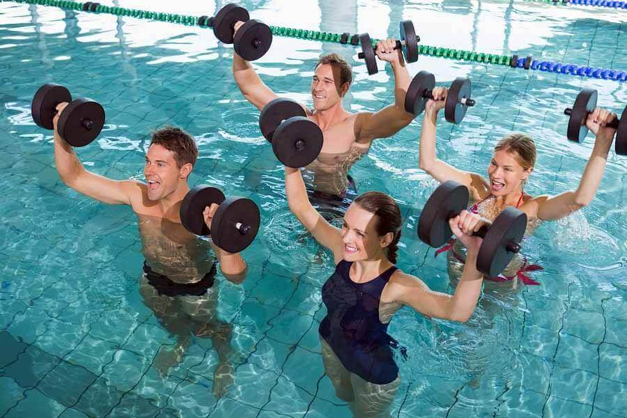 Swimming Pool Aerobic Workouts Berry Blog