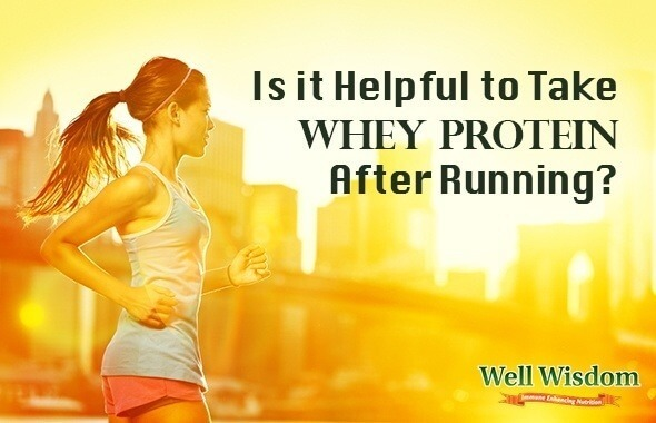 Whey Protein  After Running