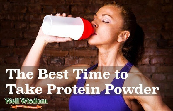 The Best Time to Take Protein Powder