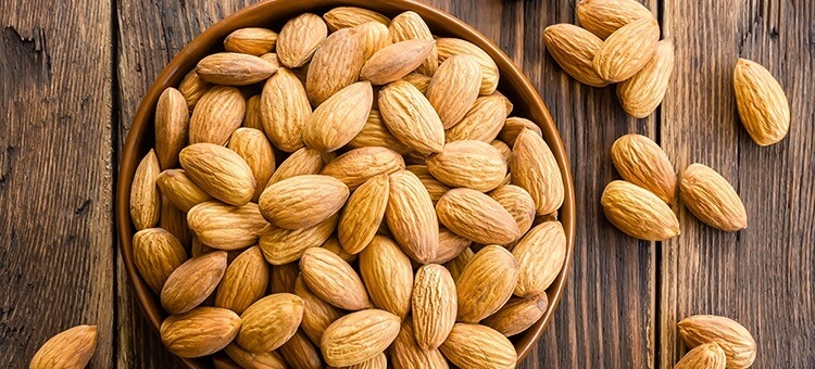 almonds are on the list of 10 best superfoods