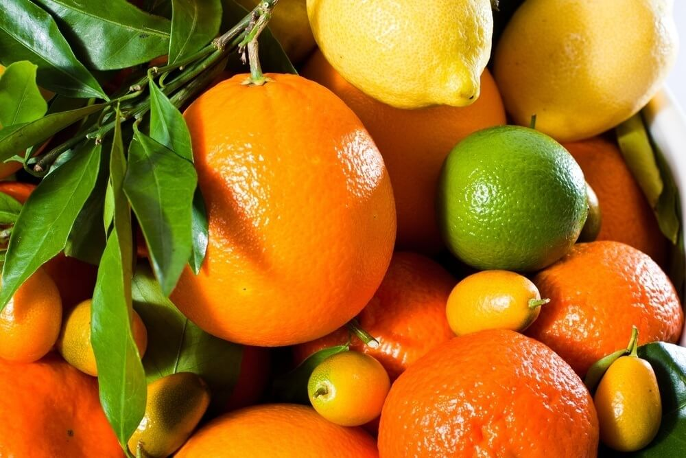 citrus fruits are a source of antioxidants