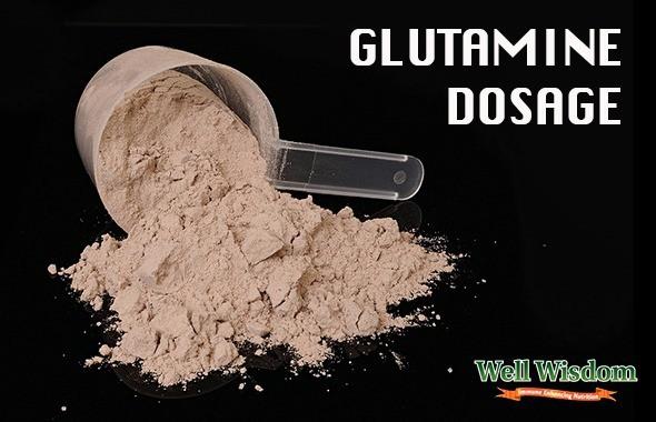 glutamine dosage