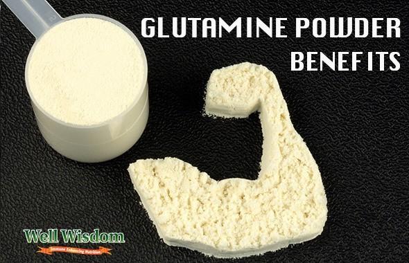 GLUTAMINE POWDER BENEFITS