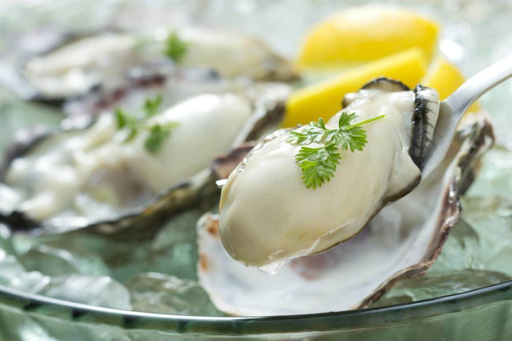 immune boosting foods oysters