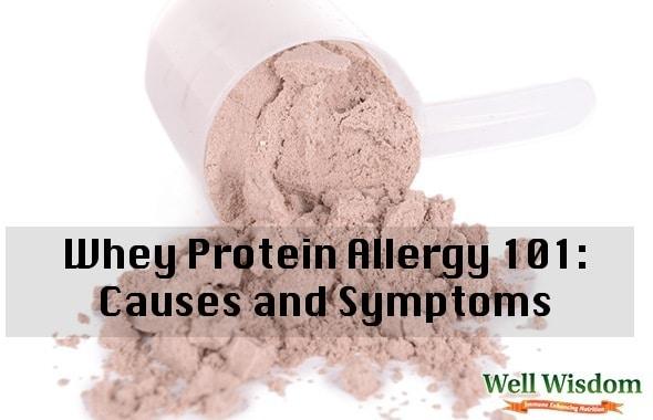 whey protein allergy