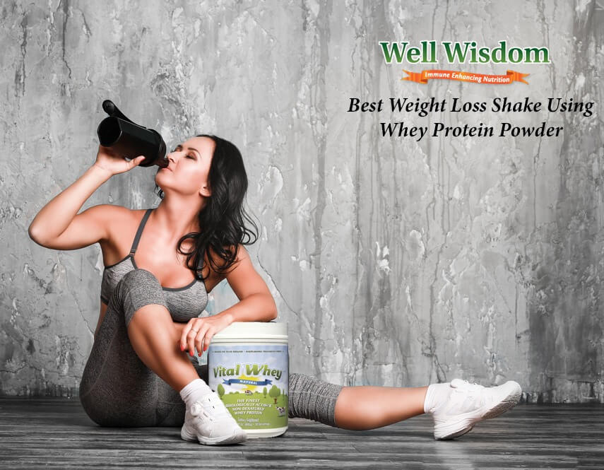Best Weight Loss Shake Using Whey Protein Powder