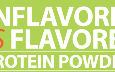 Unflavored vs Flavored Protein Powder – Infographic