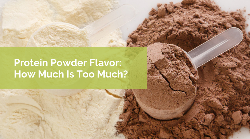 Protein Powder Flavor: How Much Is Too Much?